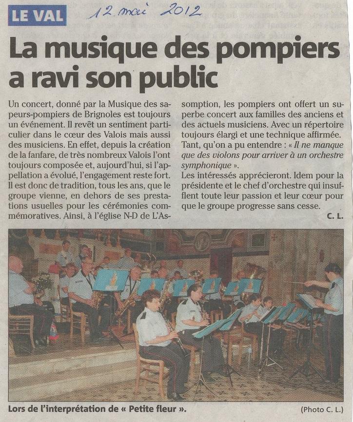 Concert Le Val 2012