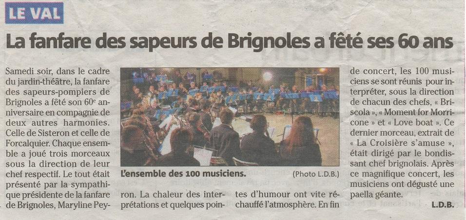 Concert 60 ans Le Val 2013