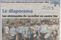 Fête Nationale Brignoles 2013