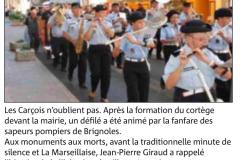 Libération Carcès 2015