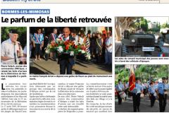 Libération Bormes 2015