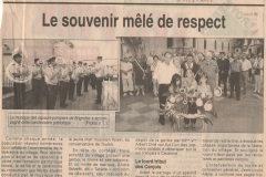 Libération Carcès - 2005